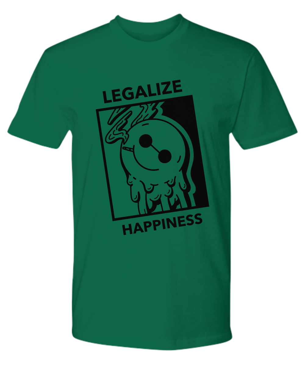 LEGALIZE HAPPINESS ~ Premium Tee