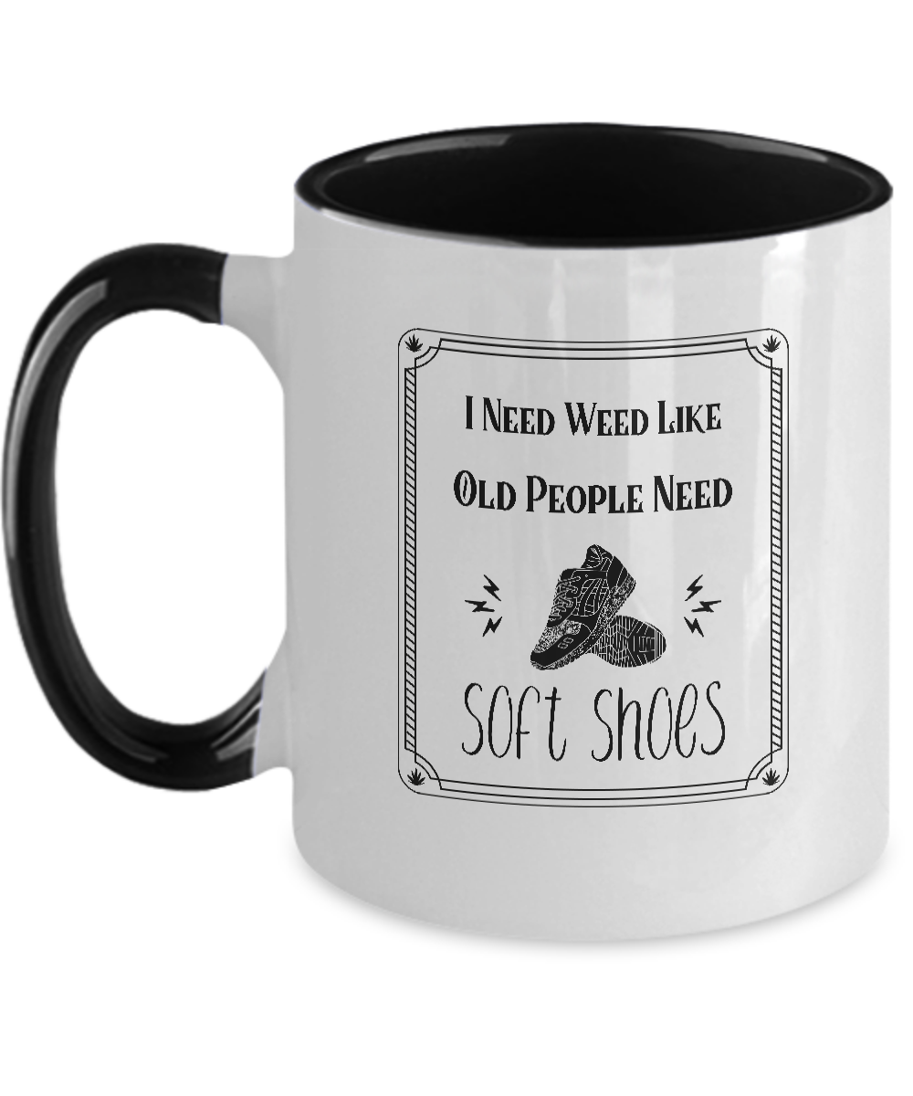 SOFT SHOES ~ Two Tone Mug