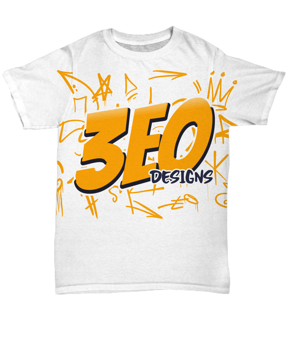 3EO DESIGNS ~ All Over Graffiti Tee