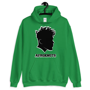 AFROKNOTS Custom Male Twists Hoodie Sizes S - 5XL Front Pouch Pocket Double Lined Athletic Rib