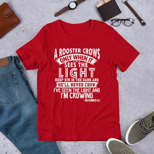 A ROOSTER ALI -  Short-Sleeve Unisex T-Shirt 100% Cotton