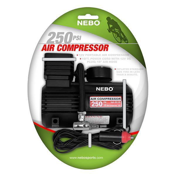 Nebo 250 PSI Air Compressor image 2380300877885