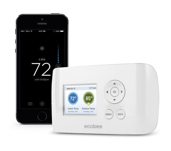 ecobee Smart Si WiFi Thermostat image 2380337119293