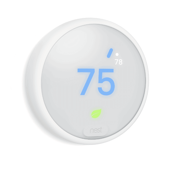 Nest Thermostat E on