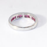 14kt Channel Set Ruby Band