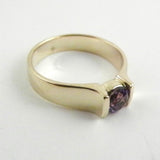 Amethyst Tension Set Ring