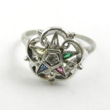 10kt Vintage Eastern Star Ring
