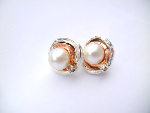 Orbit Pearl Earrings