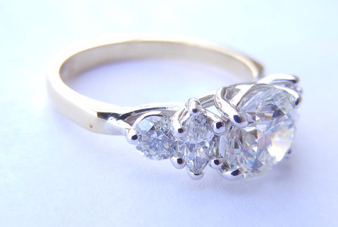 5 Diamond Trellis Ring