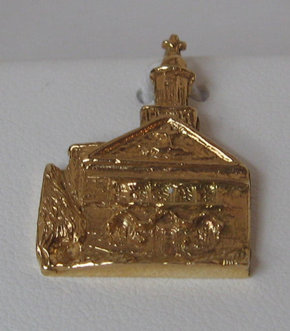 St. Mary's School Yellow Gold Charm 3.9 grams
