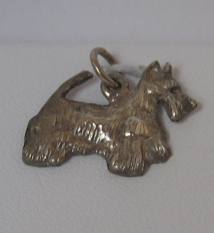 Alexandria Scottie Dog Charm in Sterling Silver