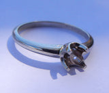 14kt White Gold Mounting