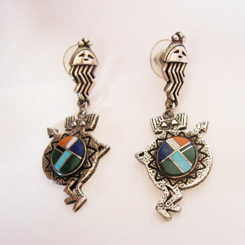 Sheild Earrings