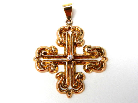 Ornate Gold Cross
