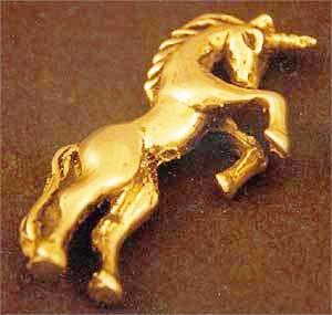 Sterling Silver Unicorn Pin
