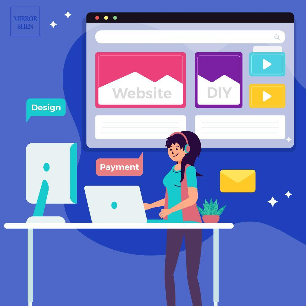 DIY Tips: How to make a website and sell online? - Mirror Shen