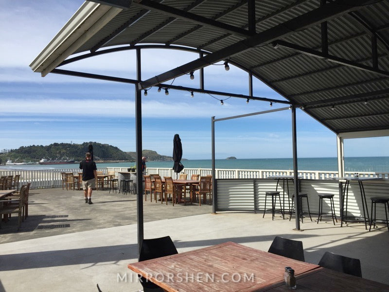 Gisborne Peppers Beachfront Cafe