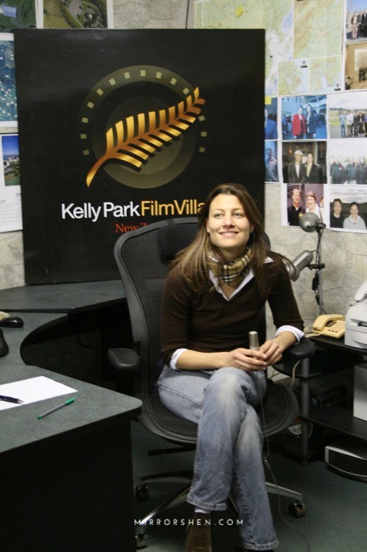 Interview in Kelly Park Film Village