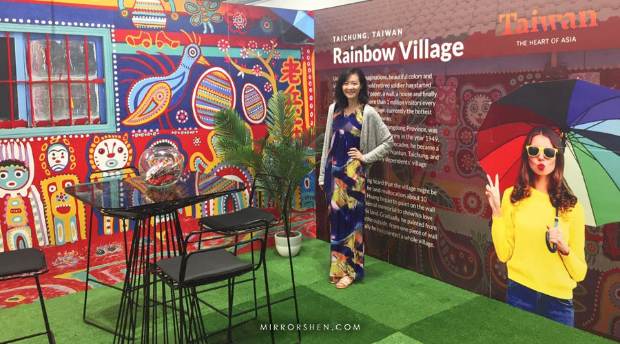 Rainbow Village Booth for Taiwan Tourism
