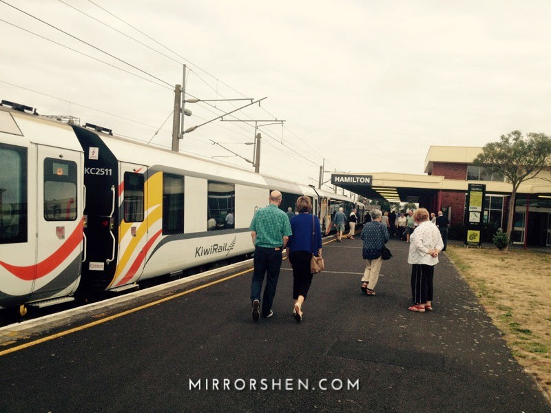 Train Trip: Hamilton to Ohakune