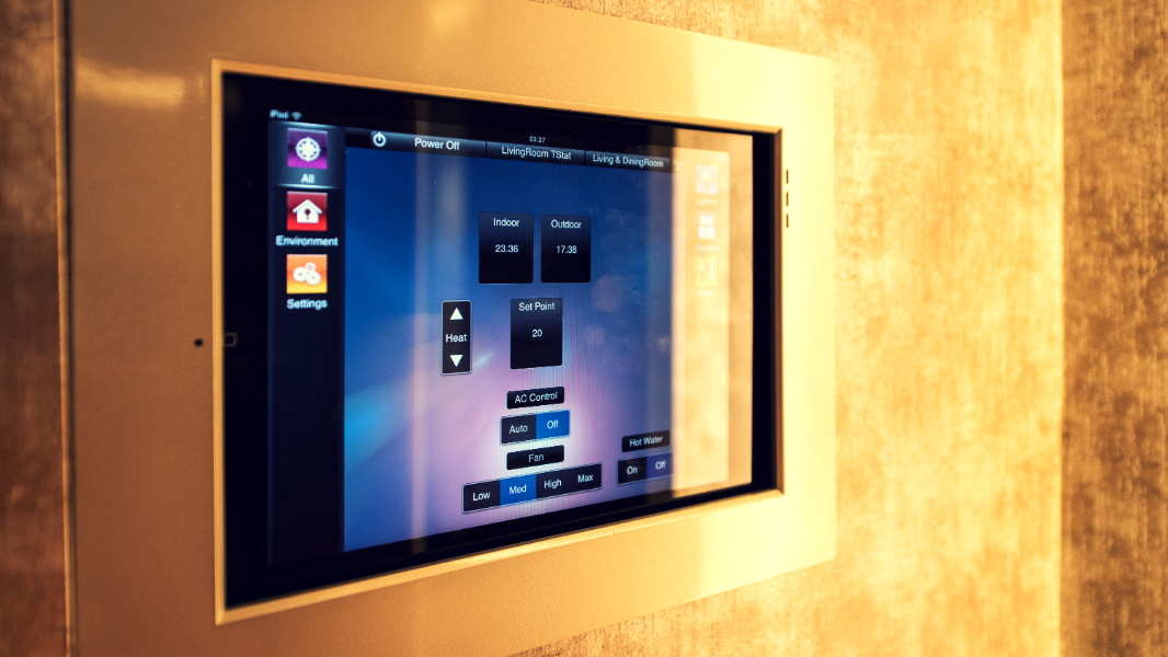 smart home touch screen