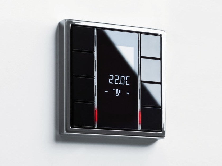 The Jung F50 is a classic piece of German design - smart home lighting keypad