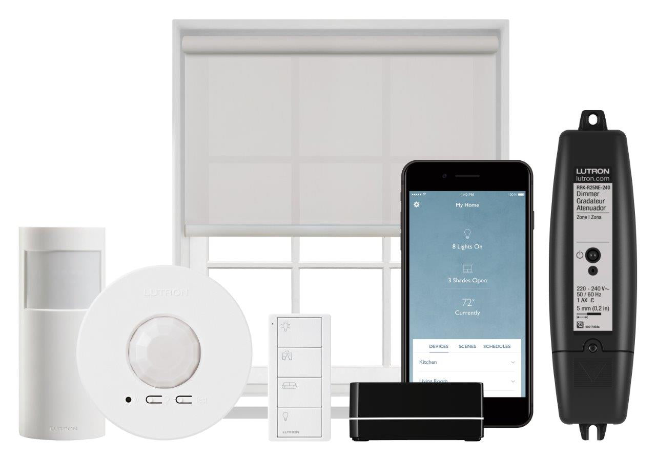 Lutron smart lighting control equipment, Avande offer training for this system in the approved partner scheme