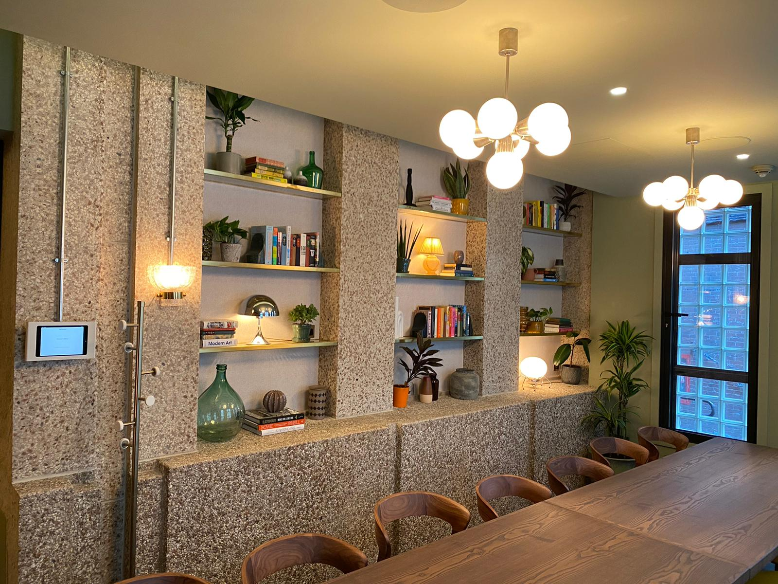 Smart lighting, heating and audio visual control in the Hoxton Hotel