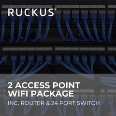Ruckus 2 Access Point Wifi Package