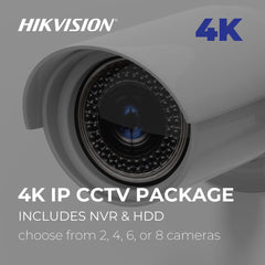 4K IP CCTV Package