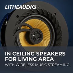 In-Ceiling Wifi Speakers for Living Area