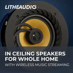 In-Ceiling Wireless Speakers for Whole Home