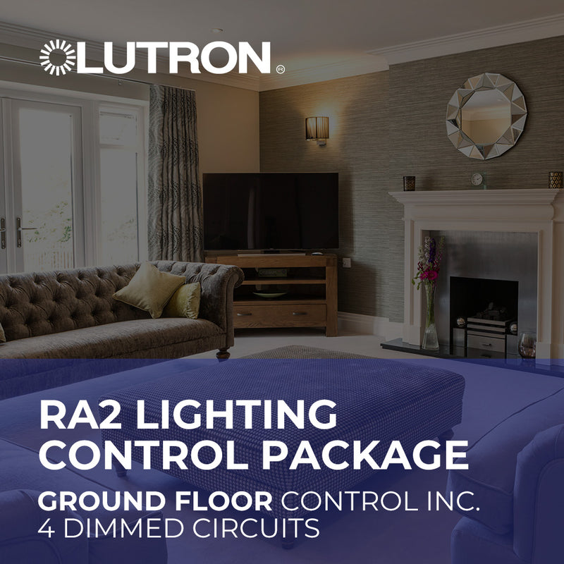 Lutron RA2 Ground Floor Wireless Lighting Control Package