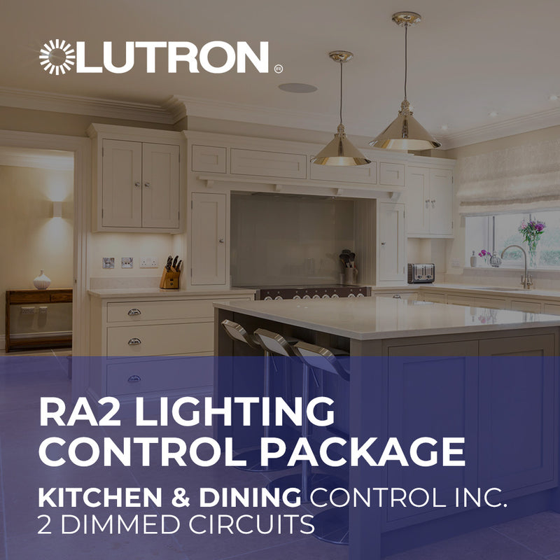 Lutron RA2 Kitchen and Dining Wireless Lighting Control Package