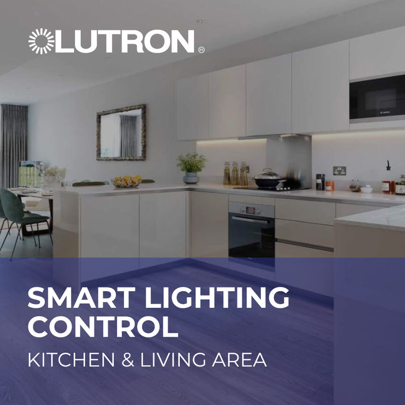 Smart Lighting Control - Kitchen & Living Area