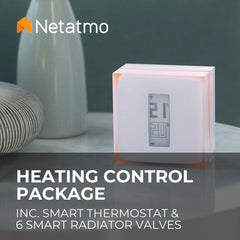 Netatmo Smart Heating Control Package