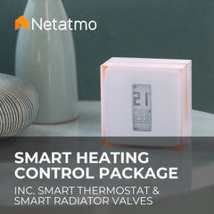 Netatmo Smart Heating Control Package - Whole Home