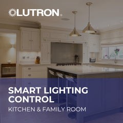 Smart Lighting Control - Kitchen & Family Room