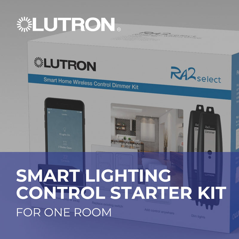 Smart Lighting Control Starter Package for One Room