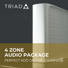 4 Zone Audio Package