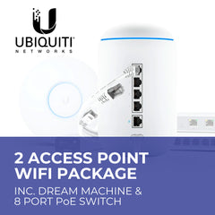 Unifi Whole Home Mesh Wifi Package