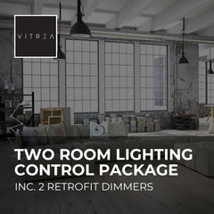 Two Room Wireless Lighting Control Starter Package