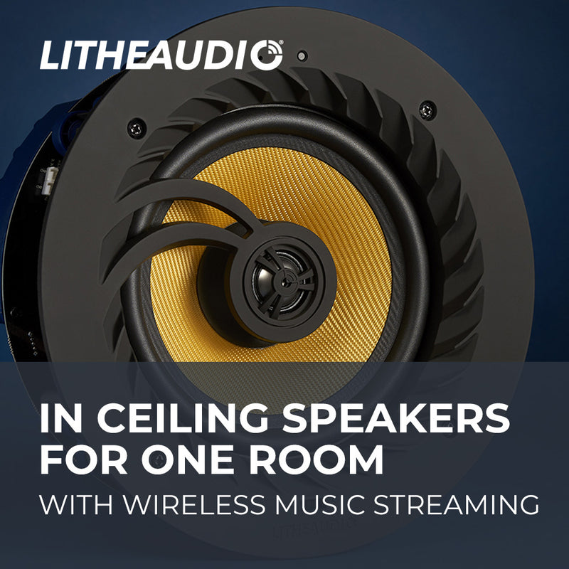 In-Ceiling Wireless Speakers for One Room