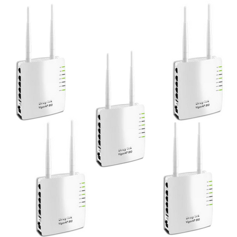 5 Wired Access Point WiFi Package - Draytek – Avande Connect
