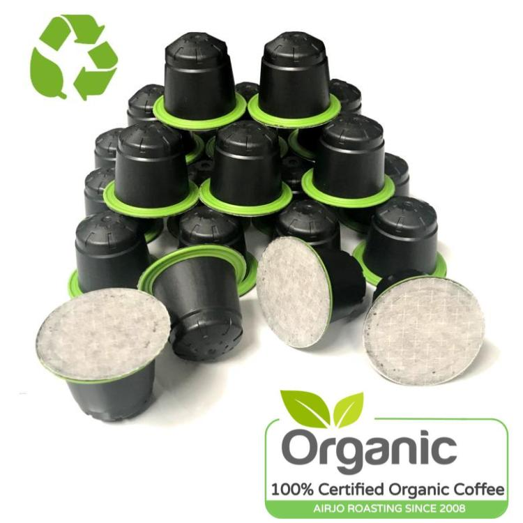 Biodegradable & Organic Coffee Capsules