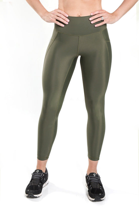 Flex Power Legging - Olive