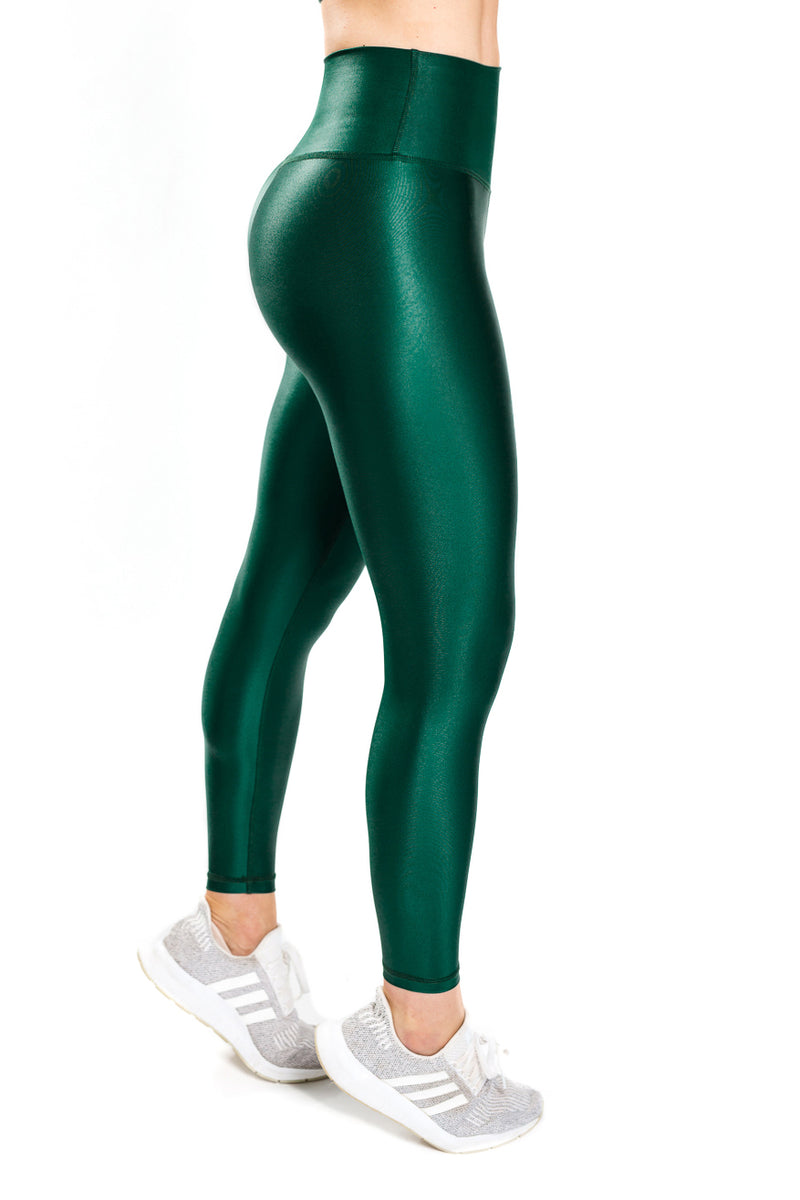 Shine Luxe Legging - Emerald