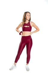 Flex Power Legging - Merlot