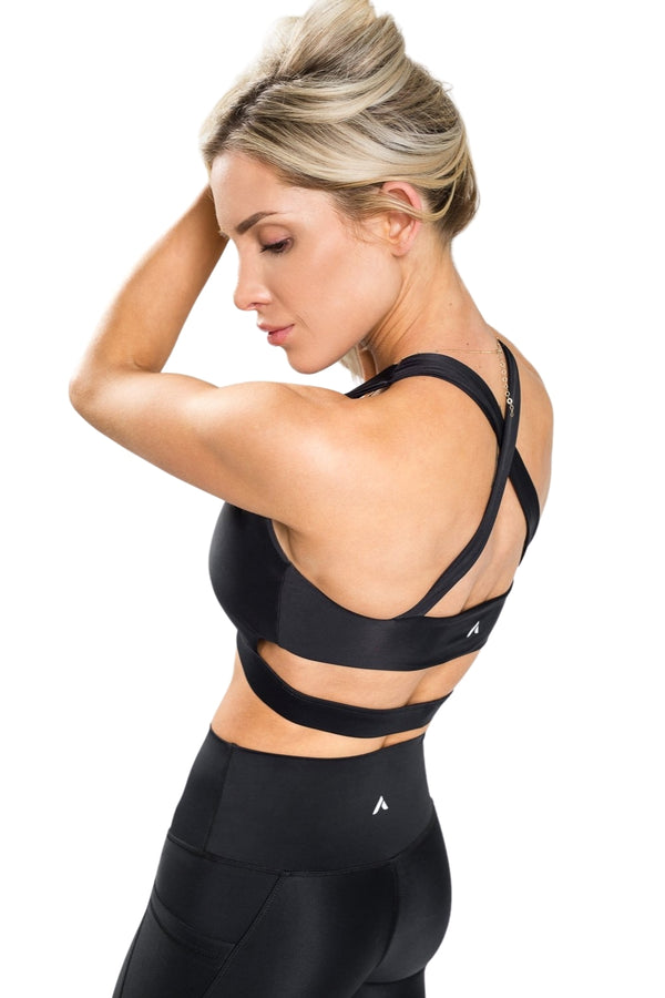 Flex X-Back Bra - Black