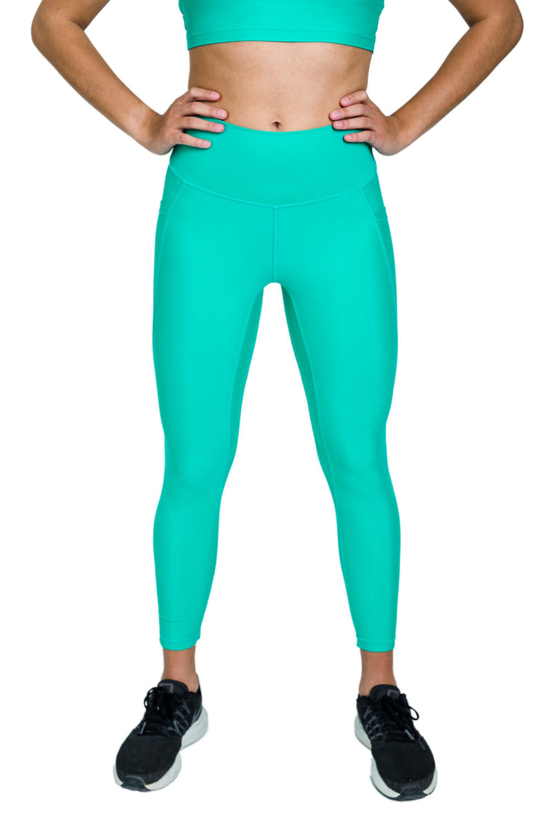 Flex Power Legging- Teal